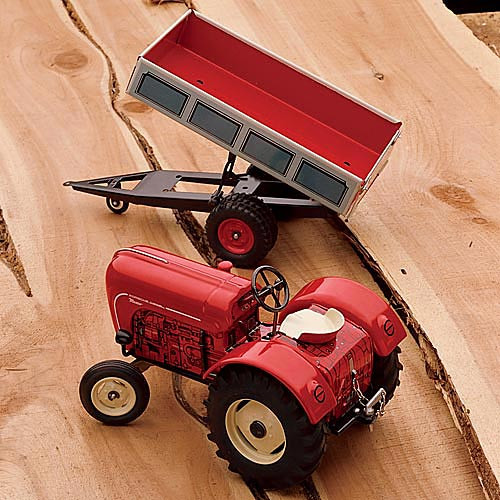 Porsche + Dump Wagon