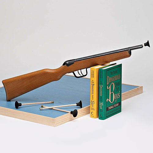 Double-Barreled Rifle (includes 4 Darts)