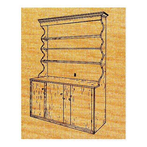 Flat Wall Cupboard - Stock #S-5