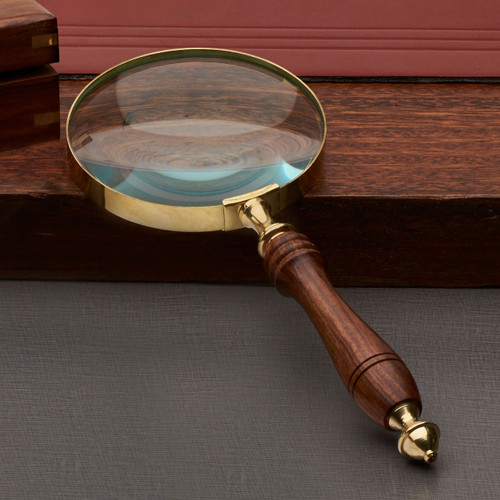 """4"""" Hand Magnifying Glass"""
