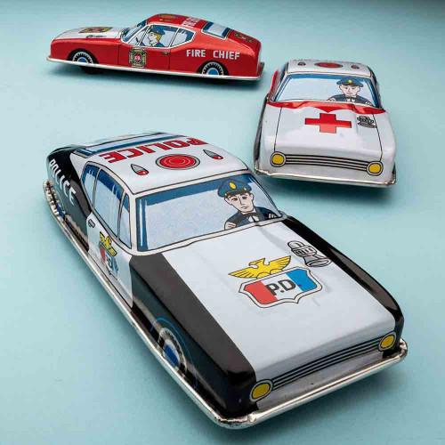 Police, Ambulance & Fire Cars (3)