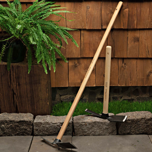 Pair of Long- and Short-Handled Garden Hoes