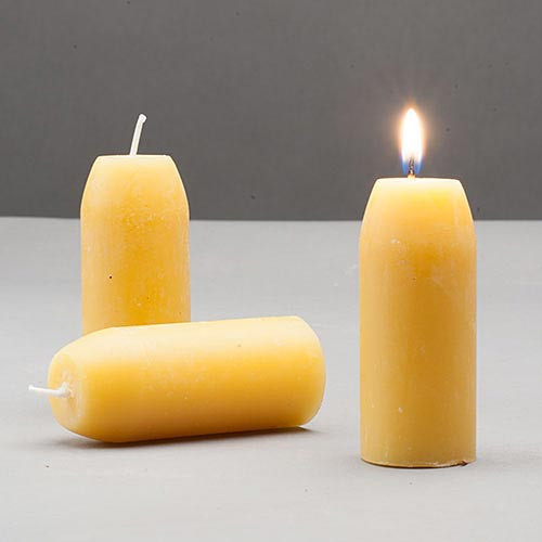 12 hr Beeswax Candles (3)