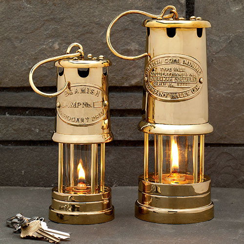 All Brass Table-Top Oil Lamp