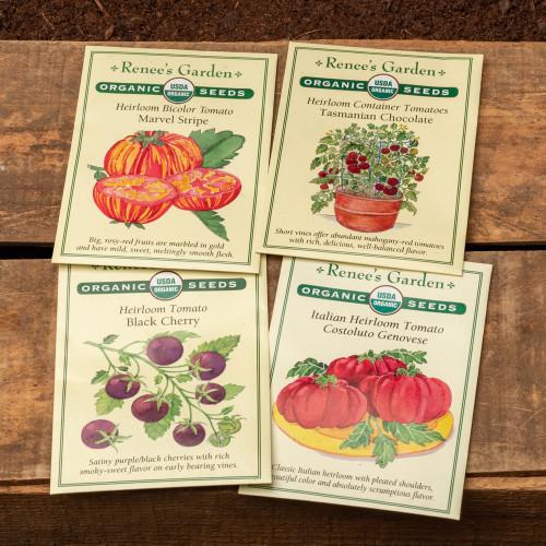 Organic Tomato Selection