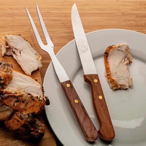 Vintage Table Serving Knife & Fork