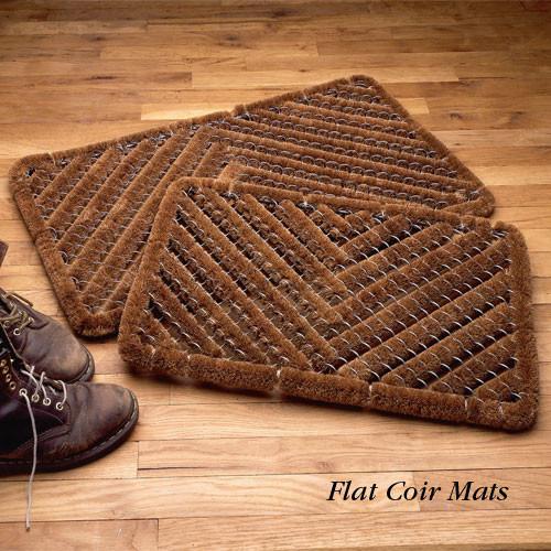Medium Flat Coir Mat