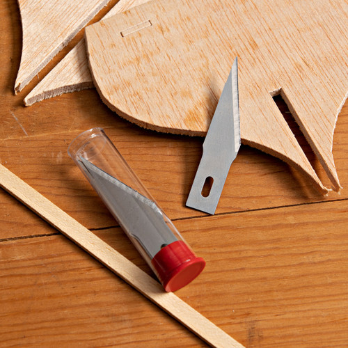 5 Repl. Long Bevel Blades