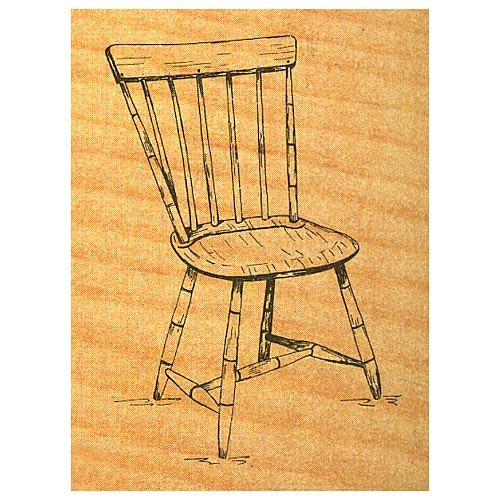 Windsor Chair - Stock #9