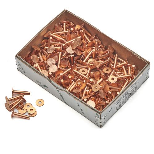 Box Copper Rivets