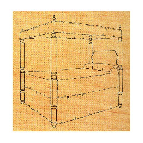 Four Poster Bed - Stock #7