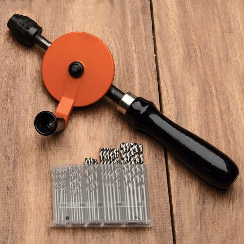 Quick & Easy Hand Drill Set