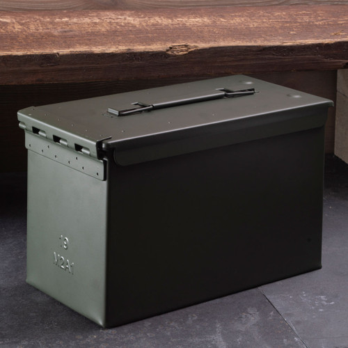 WWII-Style Ammo Box- Set of Two (2)