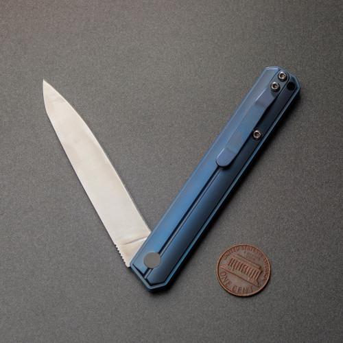 Blue Titanium Folder