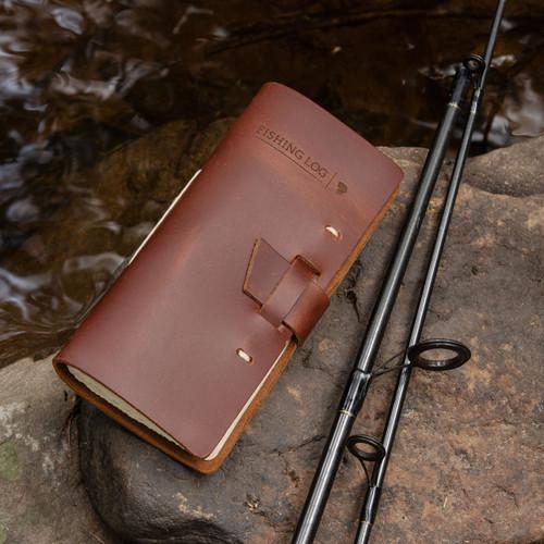 Leather Bound Fishing Log
