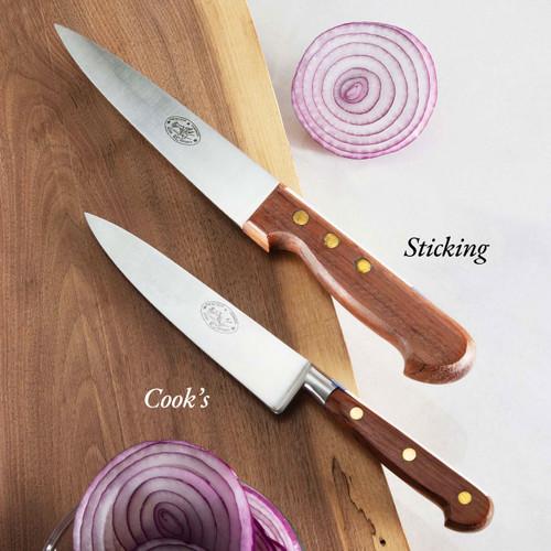 Sticking Knife Rosewood Handle