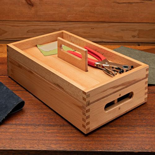 Wooden Crafts Storage Box