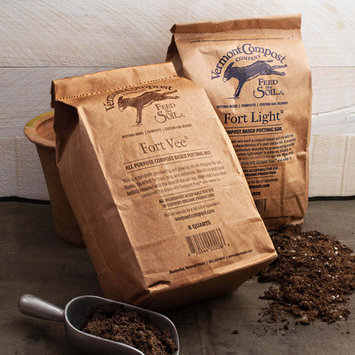 6 Quart Bags of Potting Soil from Vermont