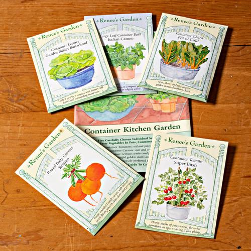 Easy Vegetable Garden  (5 pkts in 1)