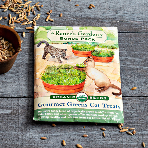 Gourmet Greens Cat Treats Seed Pack