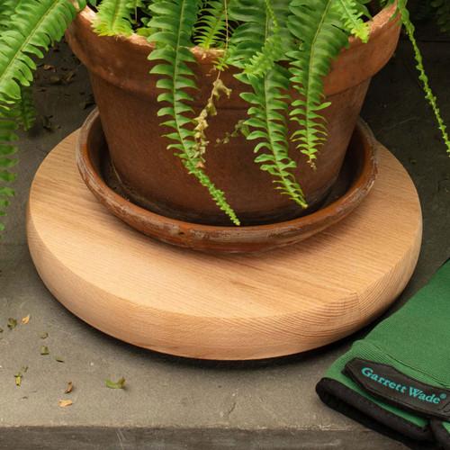 German Made Hardwood Indoor Plant Caddy