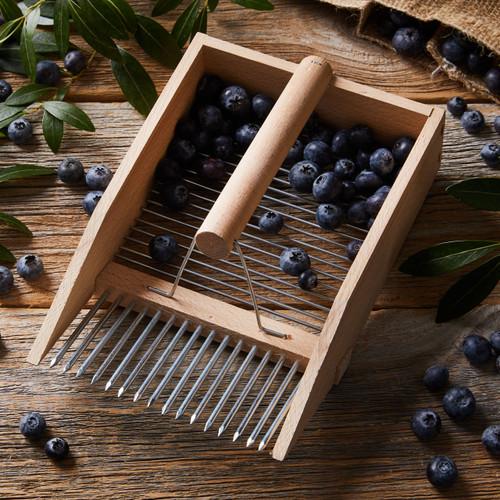 Huckleberry Comb  Berry Harvester