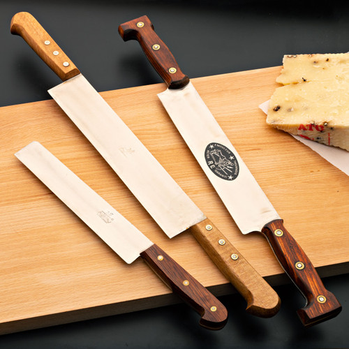 """Three Vintage French Knives """"Couteaux a Framage"""""""