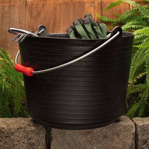 Everyday Use 5 Gallon Rubber Garden Bucket