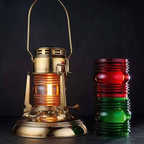 Railroad Lantern w/ Clear Glass