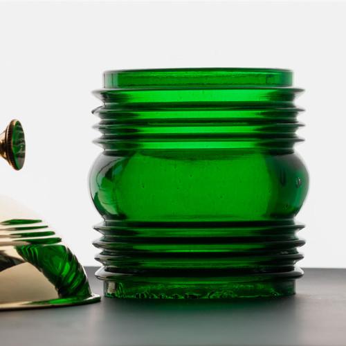 RR Lantern Green Replacement Glass