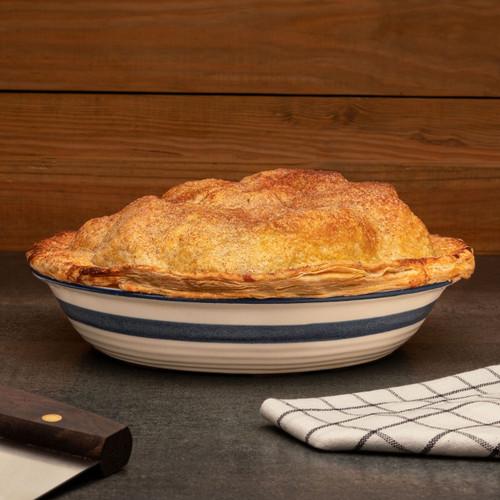 Ceramic Dominion Pie Pan