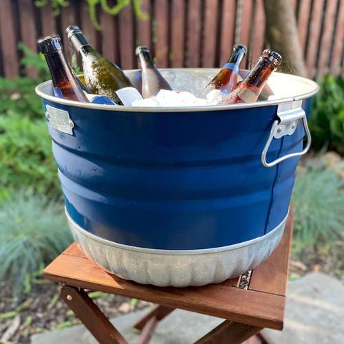 USA Made Galvanized Steel Bushel Basket