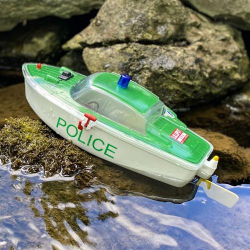 "Vintage Battery Powered ""Elektro-Marino"" Police Boat"
