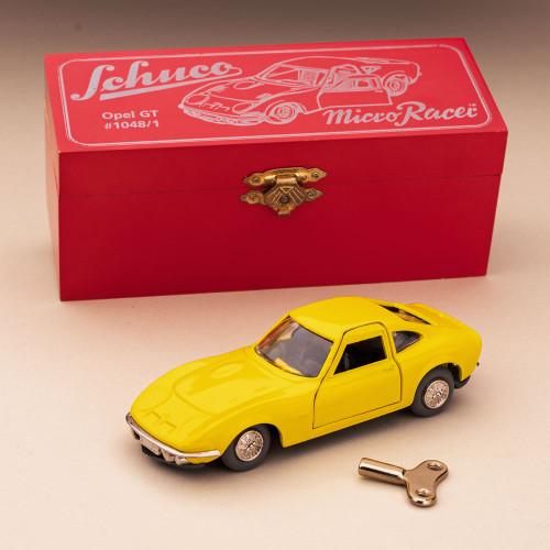 Opel GT Yellow