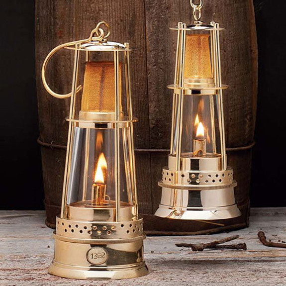 """8"""" Mesh Miner's Oil Lamp"""