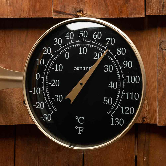 Unique Large-Dial Window Thermometer