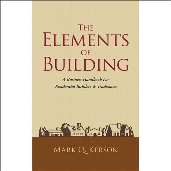 Elements of Building Book