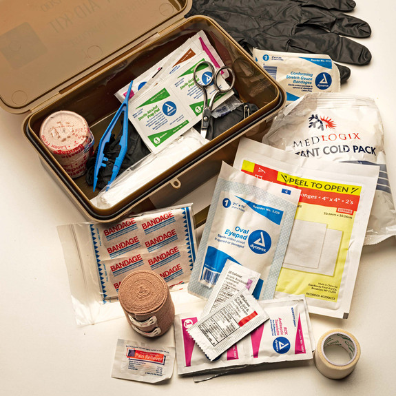 Quick-Access Wall-Mount First Aid Kit