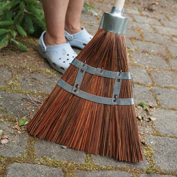 Heavy-Duty Garden & Garage Broom