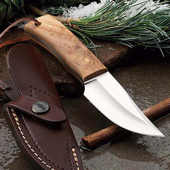 Short European Sheath Knife