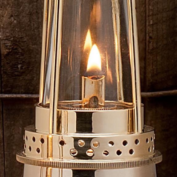 """10"""" Mesh Miner's Oil Lamp"""