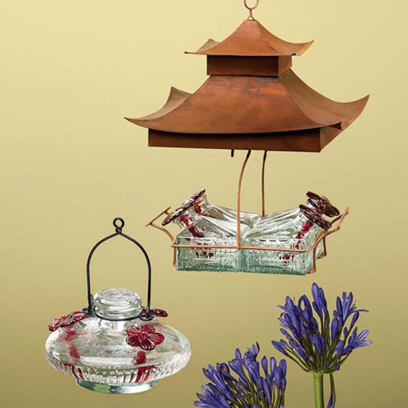 3-Stem Hummingbird Feeder