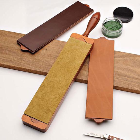 Optional English Bridle Leather (backed)