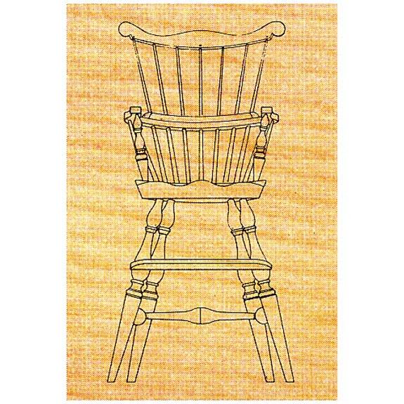 Windsor Highchair - Stock #38