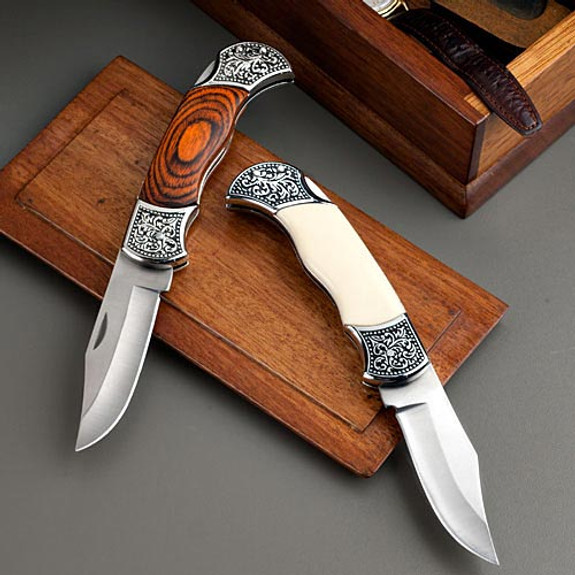 Two Handsome Folding Knives