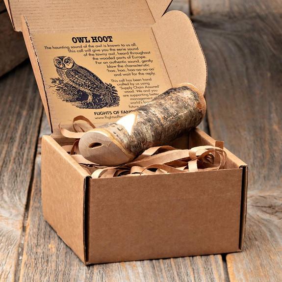 Hand-Made Wooden Bird Calls