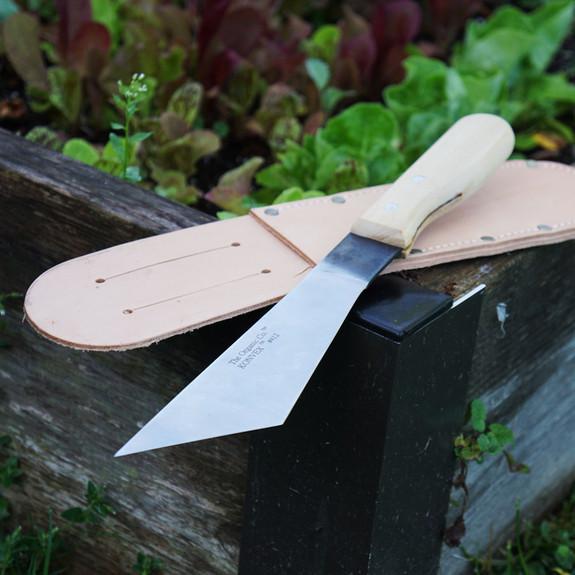 Leather Sheath for Lettuce/Broccoli Knife