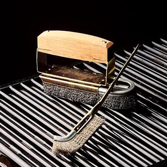 BBQ Steel Brush Set