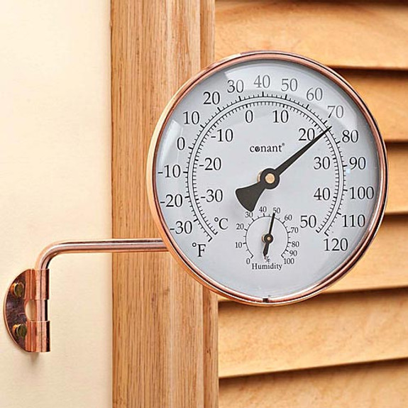 Outdoor Combination Thermometer / Hygrometer