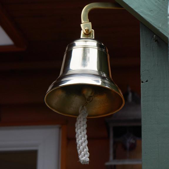 Distinctive Solid Brass Bells